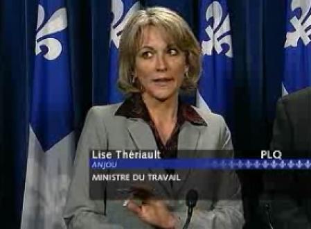 Ministre du travail au Québec