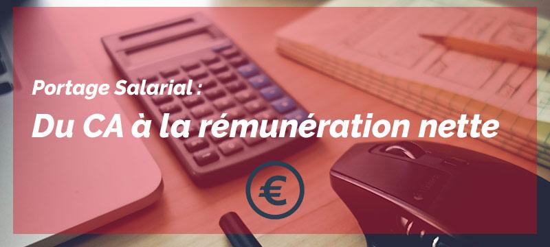 calcul rémunération