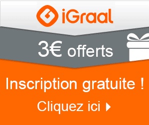 3 euros offerts igraal
