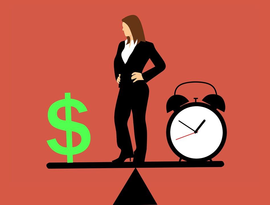 équilibre temps de travail et argent